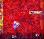 """Flight Towards Wisdom"" 58X60inches acrylic $6500"