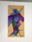 Acrylic 11x5 1/2 on paper
